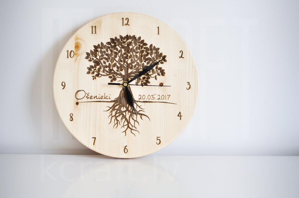 "Pulkstenis - ""Koks ar saknēm"""